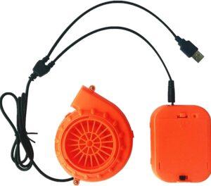 Mini Zero Noise Blower Fan By WJA