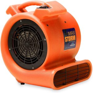 Storm Blower ½ HP Air Mover Quiet Fan By Soleaire Max