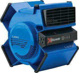 High-Velocity X-Blower Universal Quiet Blower Fan By Lasko