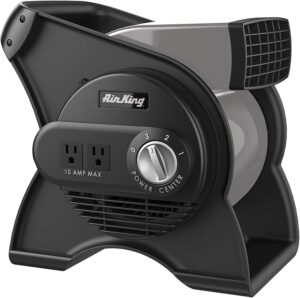 Air King 9550 3-Speed Pivoting Utility Blower Fan By Air King